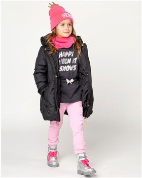 Billieblush Girls Navy Knee Length Puffer Coat U16264-20 NAVY