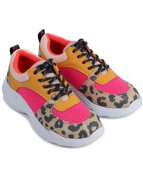 Billieblush Girls Leopard Print Trainer U19241-20 AS SAMPLE