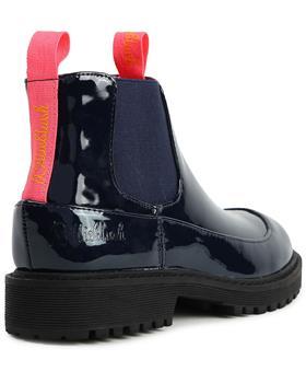 Billieblush Girls Patent Ankle Boot U19248-20 NAVY