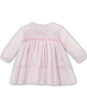 Sarah Louise pale pink smocked dress 012032-20