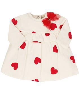 EMC baby girls red heart dress AA4553-20