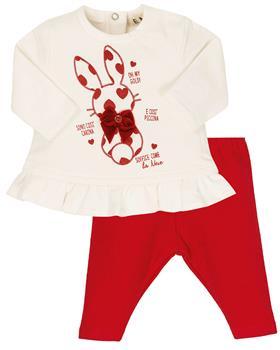 EMC baby girls rabbit legging set CO2693-20