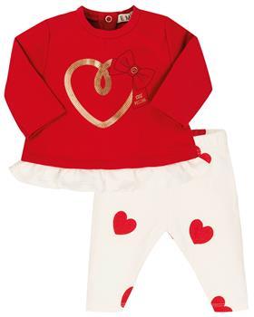 EMC baby girls heart legging set CO2694-20