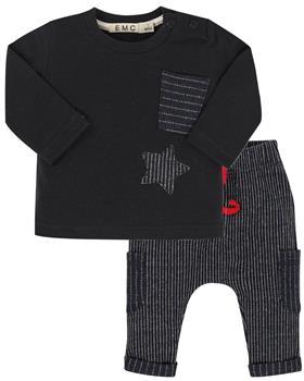 EMC baby boys top & pants BX1705-BZ6472-20 Cream