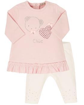 EMC girls top & leggings CO2726-20 Pink