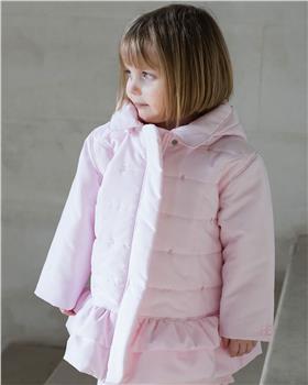 Emile et rose baby girl quilted microfibre jacket 9315pp Trisha