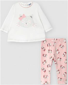 Mayoral girls legging set 2794-20 Pink
