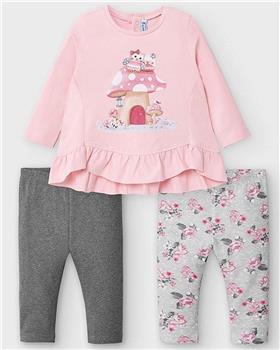 Mayoral girls legging set 2792-20 Pink