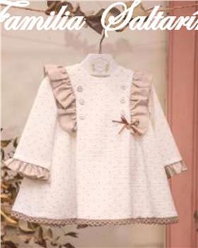 Marta y Paula baby girls dress 5102MINV-20