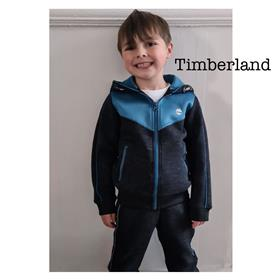 Timberland Boys Tracksuit T25Q50-24A67-19 BLUE