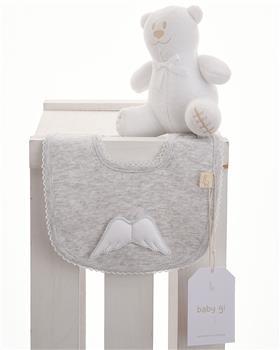 Baby Gi bib BG24ACS Grey