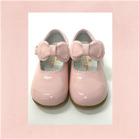 Andanines girls Mary Jane shoe 182802 Pink patent