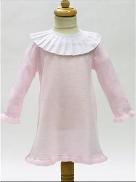 Aurea Baby Girls Knitted Dress 5393616 PINK