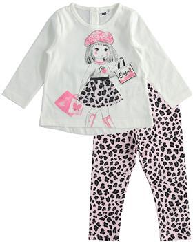 I Do girls sugar top & leopard leggings 41653-41670