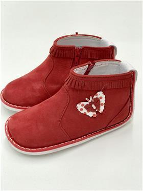 Pex Baby Girls Boot B6404 Red