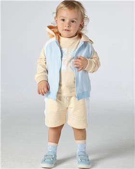Mitch & Son boys T-shirt & zipper short set MS21109-116