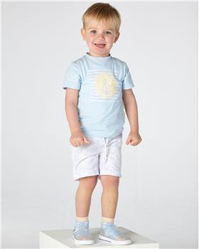 Mitch & Son boys T-shirt & short MS21110-115 Blue
