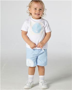 Mitch & Son boys T-shirt & short MS21110-111 Blue