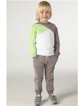 Mitch & Son boys tracksuit MS21301 green
