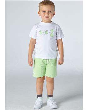 Mitch & Son boys T-shirt & short MS21312 Green