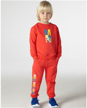 Mitch & Son boys tracksuit MS21203 Red
