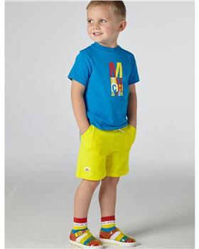 Mitch & Son boys T-shirt & short MS21214 Turq