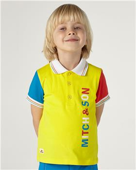 Mitch & Son boys polo & shorts MS21205-209 Multi