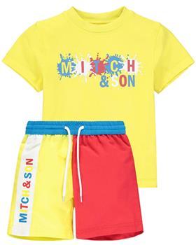 Mitch & Son boys T-shirt & short MS21208-212 Yellow