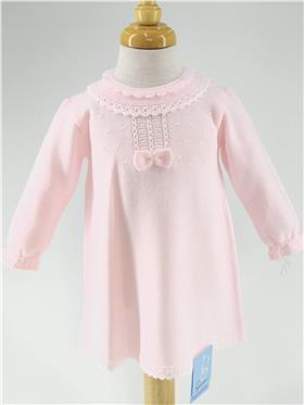 Granlei baby girls dress 202-249-20 pink
