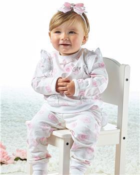 Little A Dee flamingo print tracksuit Jaqueline LS21503