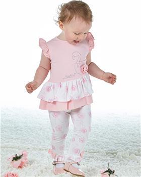 Little A Dee flamingo print legging set Jaffa LS21500