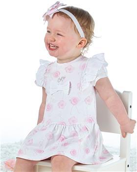 Little A Dee flamingo print  dress Jane LS21701