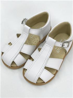 Panyno baby boys sandal B2053 white
