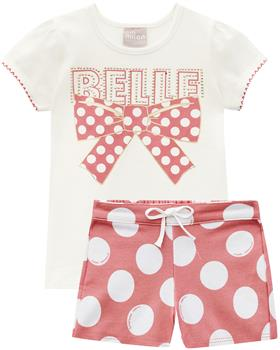 Milon summer girls Belle Bow T-shirt & short 12629-0452 pink