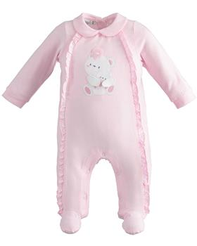 I Do baby girls all in one 42154-021 pink