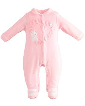 I Do baby girls all in one 42153-021 pink