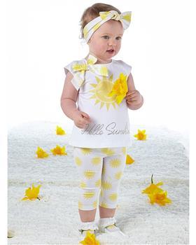 Little A Dee Sunshine Legging Set Kady LS21518