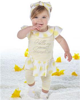 Little A Dee Stripe legging set Katriona LS21514