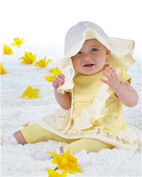 Little A Dee Seersucker Hat Kerris LS21914