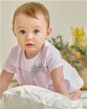 Tutto piccolo dress & knicks 1789-021 pink