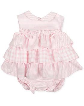 Tutto piccolo girls dress & knicks 1782-021 pink