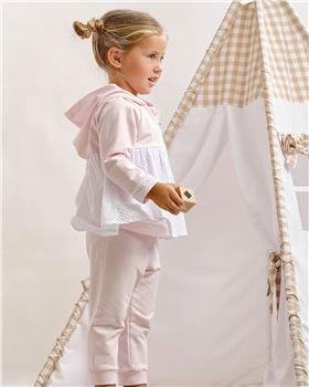 Tutto piccolo girls tracksuit 1110-021 pink