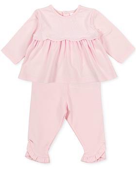 Tutto piccolo girls 2 piece set 1684-021 pink