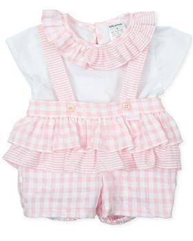 Tutto piccolo girls 2 piece set 1582-021 pink