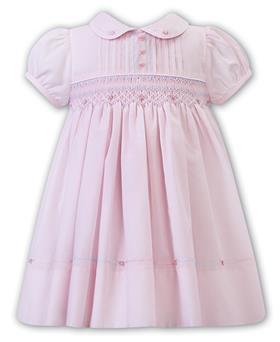 Sarah Louise baby girls dress 012255 pink