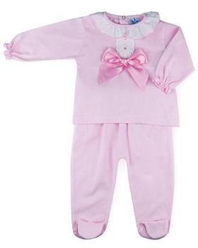 Sardon baby girls top & pants HA-318-021 Pink