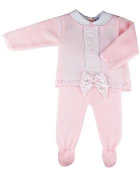 Sardon baby girls top & pants MC-190-021 Pink