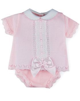 Sardon baby girls top & knicks MC-189-021 Pink