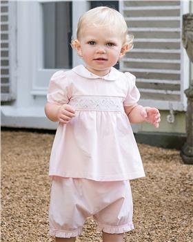Emile et Rose baby girls top & bloomer 5361pp Winifred
