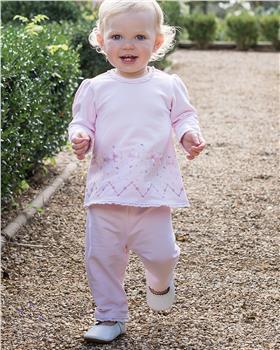 Emile et Rose baby girls top & trouser 6458pp Walker